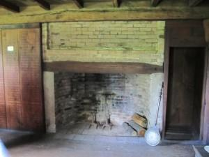 Rebecca Towne Nurse Homestead, the fireplace in the 2nd floor bedroom