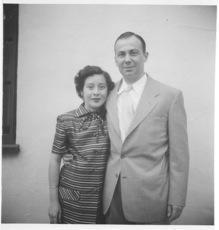 Uncle Norman and his wife Delia, 1952