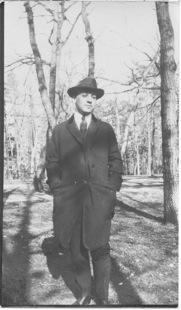 Grandpa Leo, 1918 or 1919?