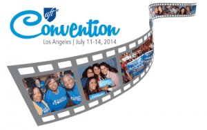 AFT 2014 National Convention logo
