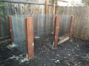 fencing-on-posts