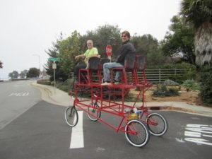 Big Red, Santa Cruz Open Streets, 2013