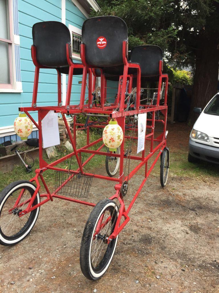 Big Red Art Bike